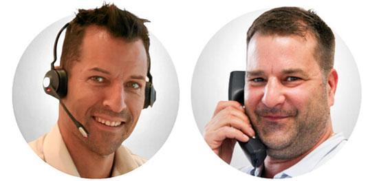 Christian Jost und André Sauter ... und Reno Rüdeberg (bald auch mit Bild).