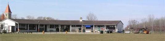 Die 1981 eröffnete Sportanlage des SC Mannswörth