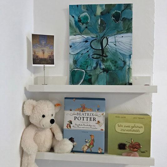 Muttertag, Baby, Kinderzimmer, Beatrix Potter, Peter Hase, Peter Rabbit, Steiff, Baby party, baby shower gift