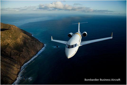 Jet privé Bombardier Challenger 650