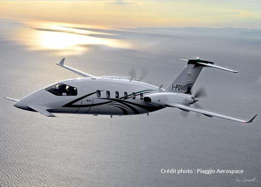 Jet privé Piaggio P180 Avanti II