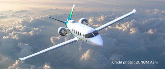 L'avion hybride ZA10 de Zunum Aero