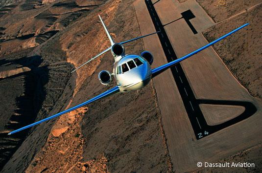Jet privé Dassault Falcon 50EX
