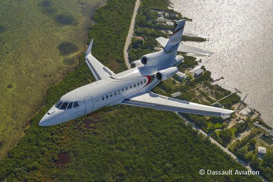 Jet privé Dassault Falcon 900LX