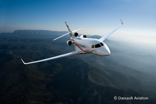 Jet privé Dassault Falcon 7X