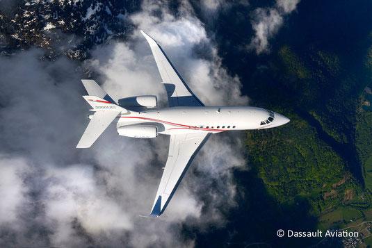 Jet privé Dassault Falcon 2000LXS