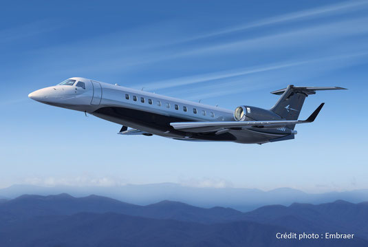 Jet privé Embraer Legacy 650E