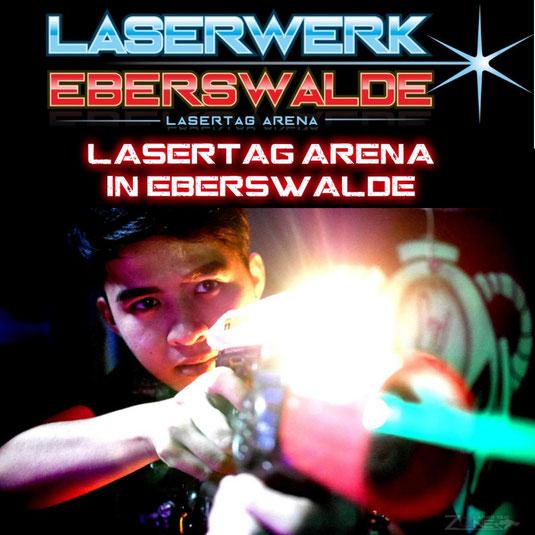 Lasertag - Lasergame Geldwertgutschein Laserwerk Eberswalde