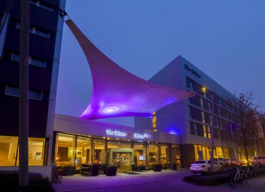 Hotelfotograf in Miltenberg, Hotel Brauerei Keller, Gebäude, Fußgänger