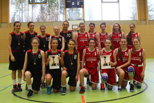 Zweiter Platz im Finale für die Penzbergerinnen (in rot)