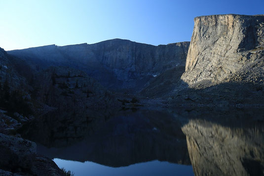 Lost Twin Lakes, Bighorn Mountains, backpacking, camping out