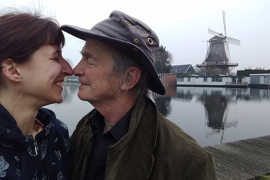 Lovebirds in Amsterdam