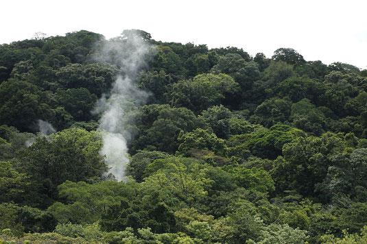 Fumarolen, Costa Rica, Vulkan, Nationalpark, Rincon de la Vieja