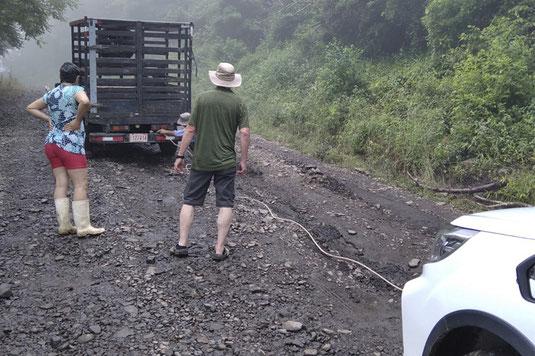 Costa Rica, Ticos, Hilfe, Roadtrip, Panne