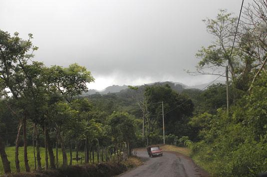 Costa Rica, Starkregen, Mietwagen, Monteverde, Unwetter, Roadtrip