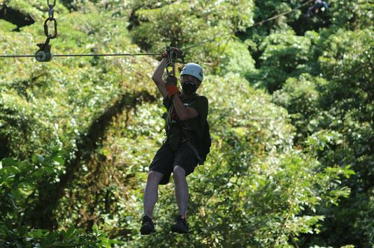 Ziplining Costa Rica, Monteverde