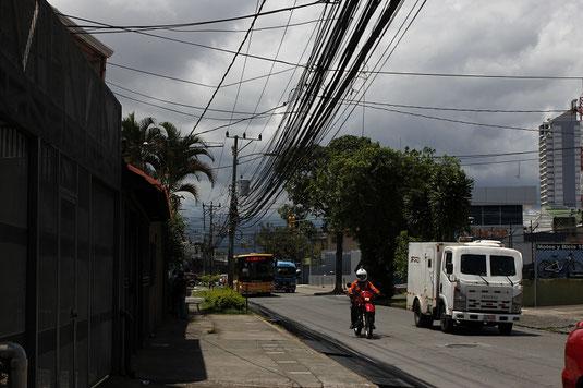 San José, Costa Rica, traffic, road trip, rental car