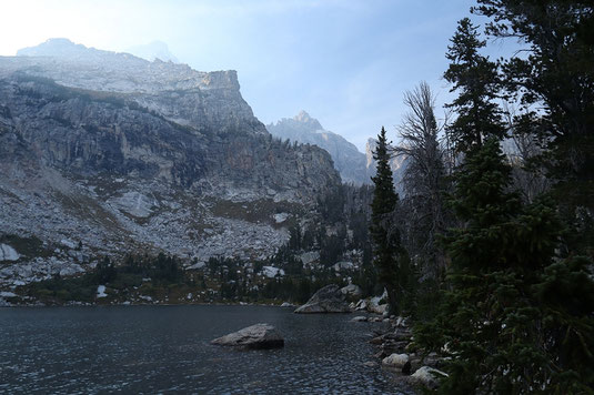 Amphitheater Lake, Grand Tetons, landscape photographer Wyoming
