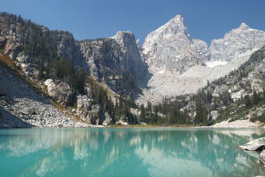 Delta Lake, Grand Teton National Park, backpacking, backcountry camping Tetons, Jackson