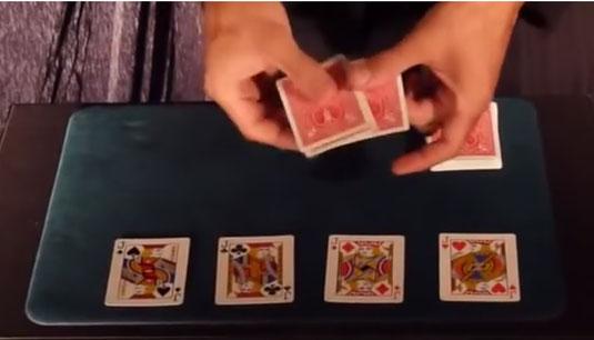 Voici une démonstration d'explication de tour de magie