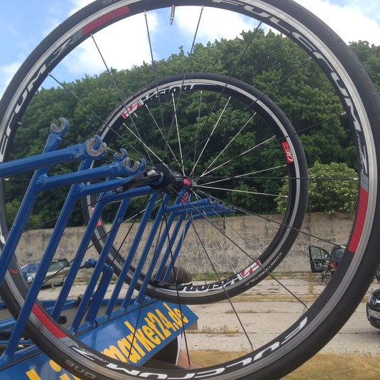 Gute Wahl fürs Training oder als Ersatzrad unsere Fulcrum Racing 7