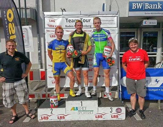 Janko belegt den 2. Platz bei seinem Heimrennen in Baden-Württemberg