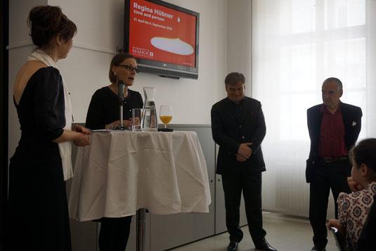 MMKK, Regina Huebner, Roberto Fabbriciani, Luca Lombardi. Die Floete und das Bild on the occasion of time and person by Regina Huebner.