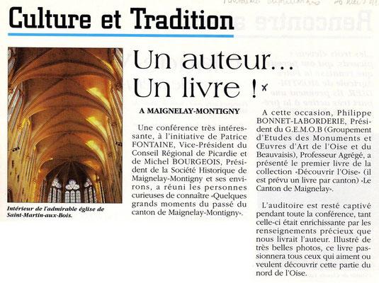 Montdidier Infos du 26 mars 1994