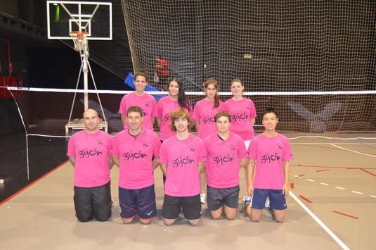 Equipo Bádminton Astures Gijón