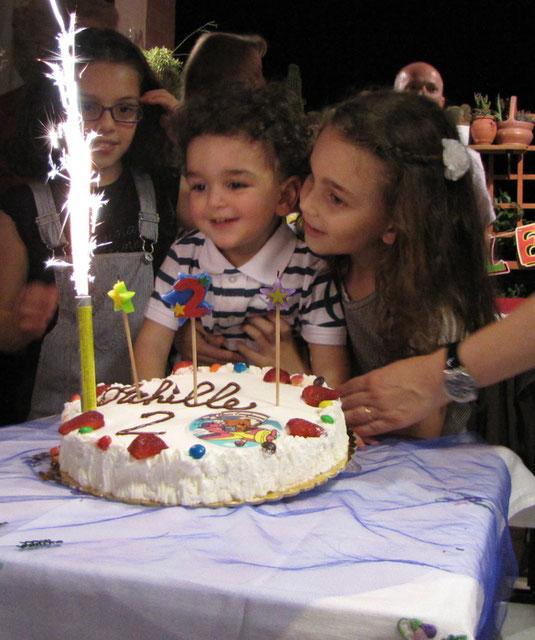 29 Maggio 2010, Compleanno del fratellino Achille, 2 anni.