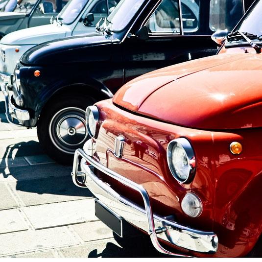 Alfa Romeo und Vespa für Gutachten