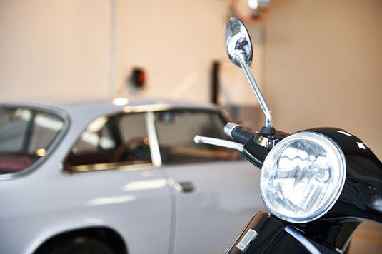 Gutachter prüfen auch Zweiräder und Oldtimer
