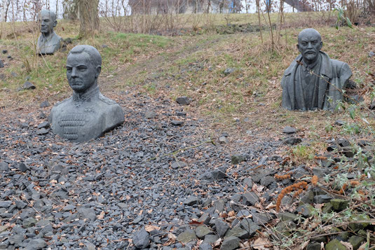 Die Kommunistenkurve neben dem Datteln-Hamm-Kanal bei Lünen