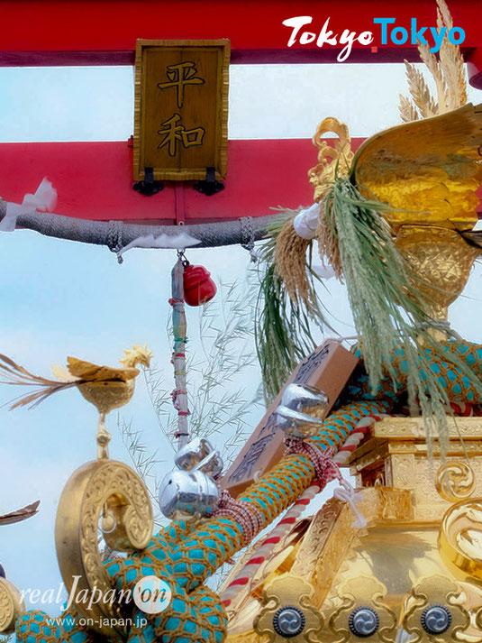一早く世界に平和が取り戻せますように。「羽田まつり」旧穴守稲荷神社 大鳥居