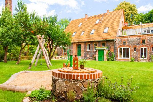 Ferienwohnungen Oderbruch Haselberg Altes Backhaus