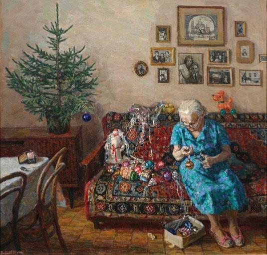 Егор Зайцев, 1995 год Рождественская ёлка