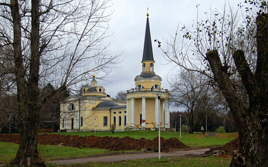 Церковь усадьбы