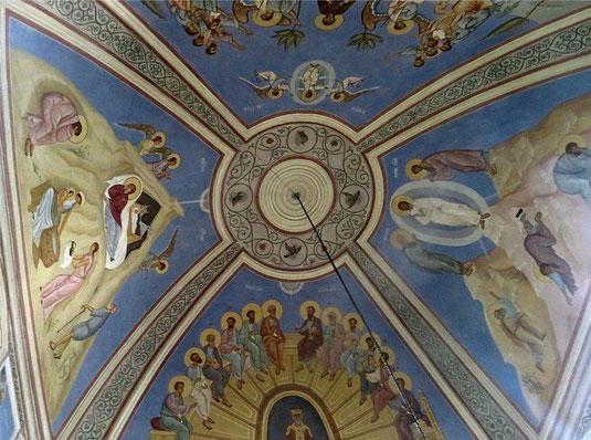 Купол церкви в Аксиньино