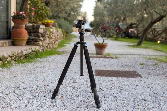 Sirui R-3213X Reporter X + Vierwege-Neiger FD-01 Profistativ DLSR