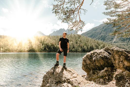 Tipps und Tricks Eibsee, Blindsee bei Garmisch-Paertenkirchen mit Blick auf die Zugspitze