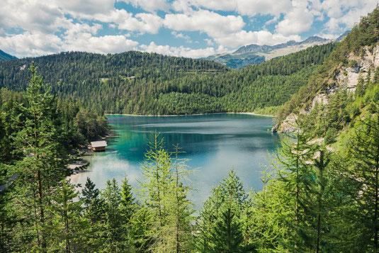 Blindsee Biberwier Anfahrt und Parken -Fotospot für Landschaftsfotografen als Alternative zum Eibsee