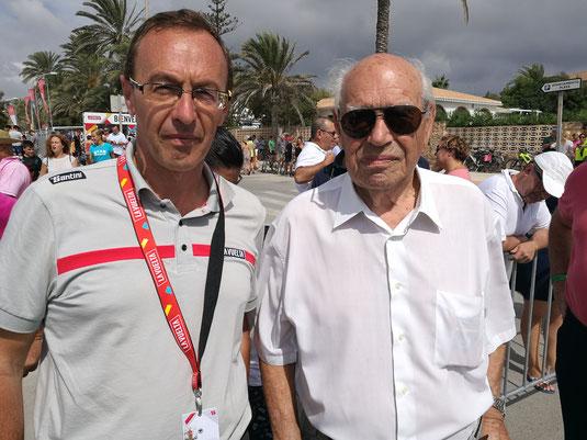 J.F.Quénet avec Bernardo Ruiz.