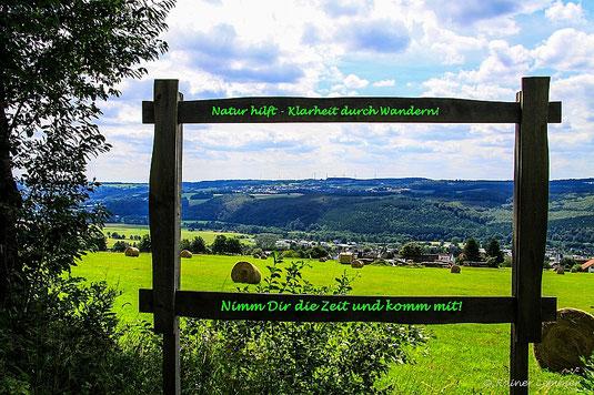 Natur Hilft - Klarheit durch Wandern im Westerwald