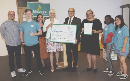 Der DEICHMANN-Förderpreis wird für Futurepreneur übergeben