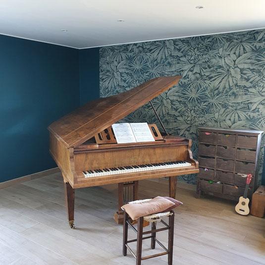 Isabelle Mourcely-Décoration, membre UFDI; rénovation maison St Avertin, Centre Val de Loire; Chinon-Tours