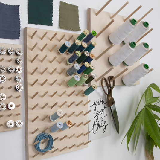 Small sewing space idea