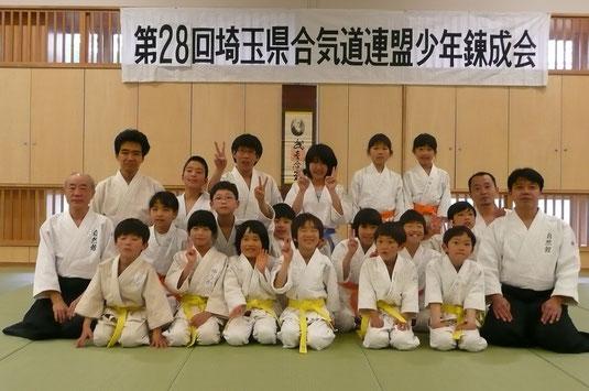 H25・県連少年錬成大会にて