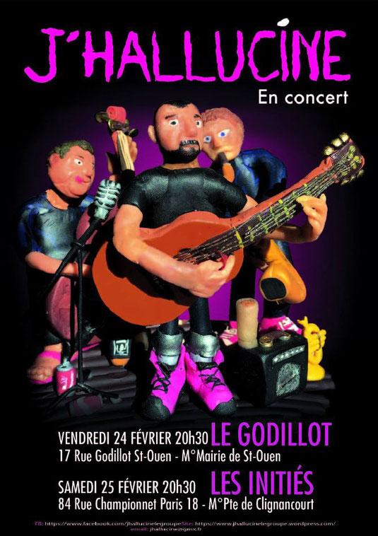 J'Hallucine En Concert