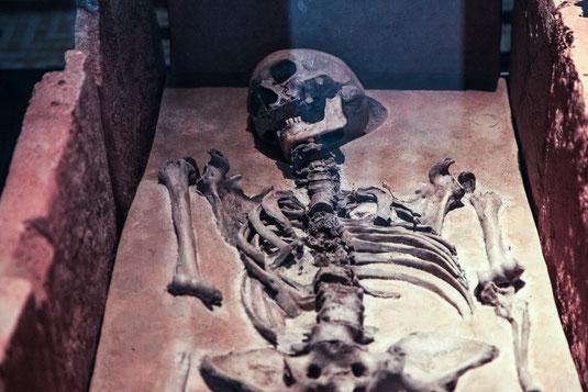 Mittelalter Freidhof Friedhöfe mittelalterlich mittelalterliche geschichte skelett tod tot skelette  grab gräber