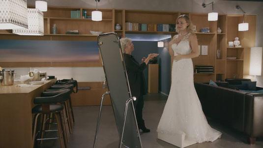 Alles was zählt Folge 3001 Brautkleid von Isabelle